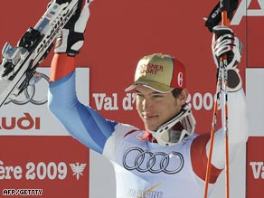 Janka confirmed his promise with a superb victory in the world championship giant slalom.