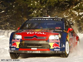 Loeb mastered the icy conditions of the Norwegian roads to win his second successive rally this year.