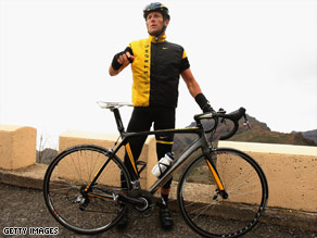 Lance Armstrong is racing in the California Amgen Tour as he attempts a comeback after retiring in 2005.