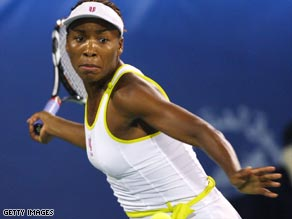 Venus took a 10-9 career lead over Serena after defeating her younger sibling in the Dubai Open semifinals.