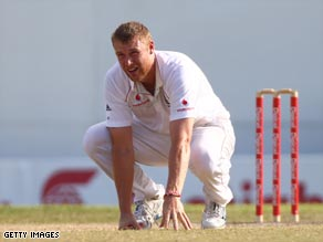 Flintoff's injury problems have returned, forcing him to miss the fourth Test against West Indies in Barbados.