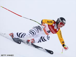 Stechert edged Lindsey Vonn to claim her first-ever World Cup success at Tarvisio.