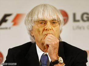 F1 supremo Ecclestone is working hard to ensure Honda take their place on the grid this season.