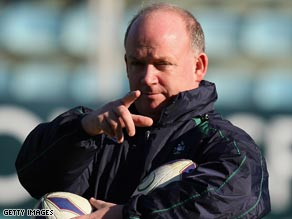 Ireland coach Kidney warns that his side face an improving England in their weekend Six Nations clash.