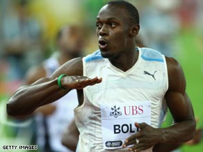 Double world record holder Usain Bolt will be among the star names contesting the Diamond League from 2010.