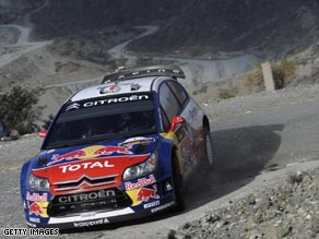 Loeb was at his very best as he powered his Citroen to an early lead in Cyprus.