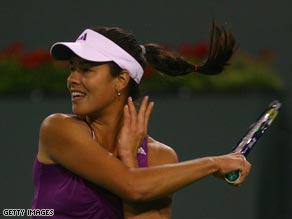 Ivanovic has been in fine form at the hardcourt event in California.