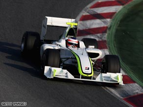 The Brawn GP team go into the opening Melbourne GP as favorites after impressive times during testing.