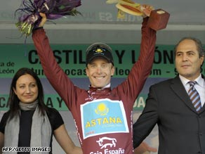 Leipheimer completes Tour of Castilla win
