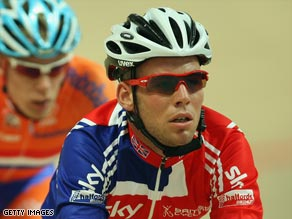 Cavendish was left disappointed in his attempts to retain his Madison world title.