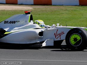 Virgin's sponsorship mark's Richard Branson's first foray into Formula One racing.