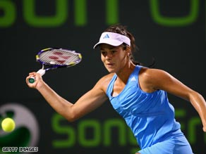 iIndian Wells runner-up was impressive with a straight sets second round victory in Florida.
