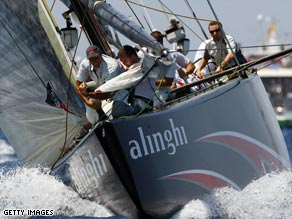 Loss off the water: Alinghi has had an earlier ruling in its favor overturned by a New York appeal court.