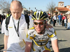 British sprinter Cavendish claimed his eighth win of the season in northern Belgium.