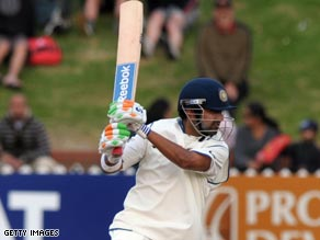 Gambhir hit 16 boundaries and two sixes on his way to a century as India closed in on a series victory.