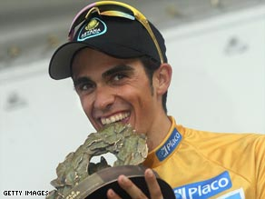 Contador is again proving the man to beat in the major European stage races this year.