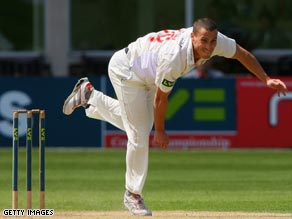 Jones has suffered a series of injury problems since helping England to Ashes victory in 2005.