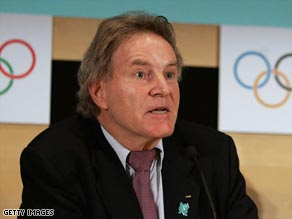 IOC's coordination commission chairman Oswald was 'very impressed' with London's Olympic progress.