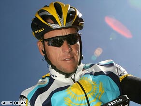 Armstrong has been cleared in his attempt to win an eighth Tour de France title in July.