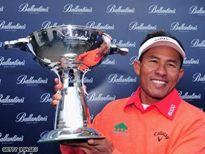 Thongchai's Korean victory was his second on the co-sanctioned European and Asian Tour.