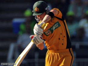 Captain Michael Clarke hit a battling 63 to lead Australia to victory in the third one-dayer.