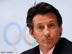 Lord Coe has expressed his 'abhorrence' at Rashid Ramzi's positive drugs test.