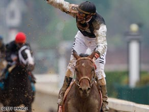 Mine That Bird comes home alone to claim a shock victory in the Kentucky Derby.