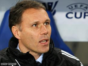 Ajax's failure to qualify for the Champions League has resulted in Van Basten leaving the club.
