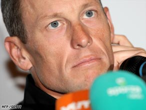 Armstrong is expected to support teammate Leipheimer in the Giro.