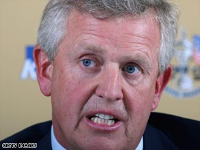 Montgomerie is determined to regain the Ryder Cup for the European team.