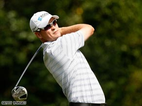 Johnson carded an eagle and eight birdies to fire a course record 60 in San Antonio.