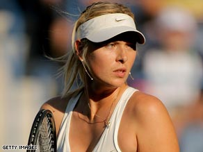 Maria Sharapova is hoping to prove her fitness ahead of the French Open in Paris starting on Sunday.