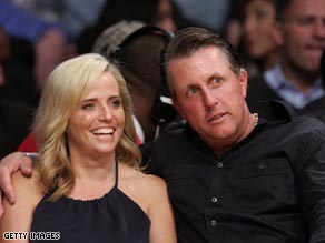 Phil and Amy Mickelson have been married for 13 years and have three children.