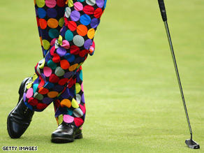 John Daly's trousers
