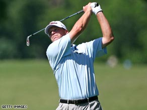 Steve Stricker is hoping that conditions at Colonial stay perfect for the rest of the weekend.