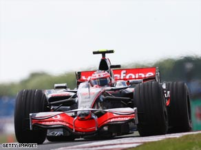 Kovalainen's practice time suggests the McLaren can compete  for honors in Sunday's Turkish GP.