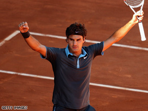 Should Roger Federer win the French Open his prize will be less in U.S. dollars than what Rafael Nadal won in 2008
