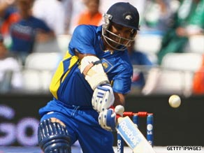 Jayasuriya hammered 81 off just 47 balls as Sri Lanka finish Group C with two wins out of two.