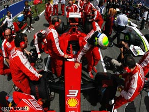 Ferrari's participation in the 2010 Formula One season remains in the balance despite the FIA's announcement.