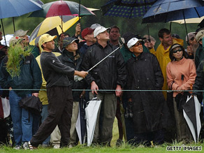 Even Tiger Woods struggled with the rough in 2002.