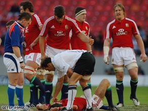Lions lost flyhalf James Hook with a head injury early in their victory over Southern Kings.
