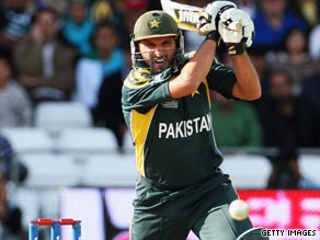 Shahid Afridi proved unstoppable with both bat and ball as he led Pakistan to the World Twenty20 final.