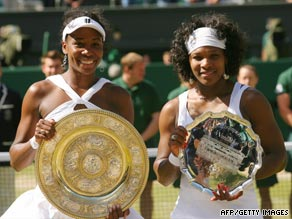The Williams sisters have dominated Wimbledon this century and contested last year's final.