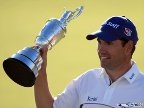 Padraig Harrington defends his British Open Championship title at Turnberry, Scotland in July