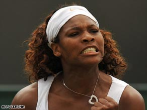 A pumped up Serena wasted little time in dispatching Italian Vinci in straight sets.