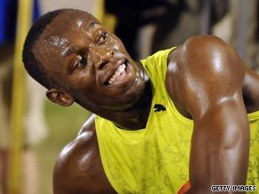 Usain Bolt eased to victory in the 200 meters final at the Jamaican Championships in Kingston