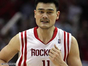 Yao Ming's entire basketball future could be in danger due to his persistent foot injury.