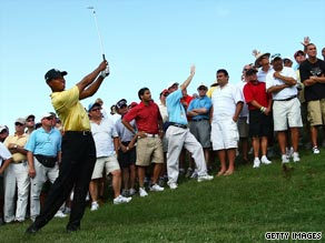 Tiger Woods supports a rule change that will make it harder to play out of the rough.