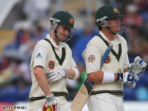 Clarke and North did a superb job for Australia with a crucial stand.