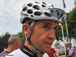 Last year's Tour champion Sastre is focused on the racing, not the team politics or disputes.